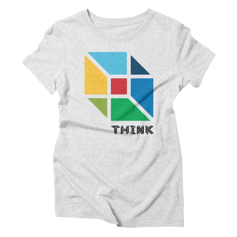 Think Outside Box, C2 Women's Triblend T-Shirt by learnthebrand's Artist Shop