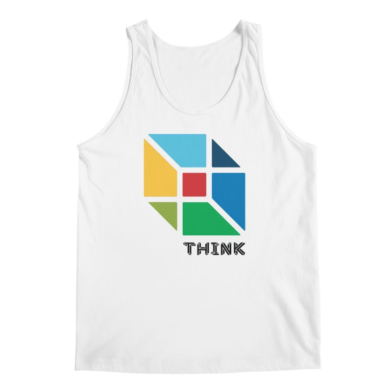 Think Outside Box, C2 Men's Tank by learnthebrand's Artist Shop
