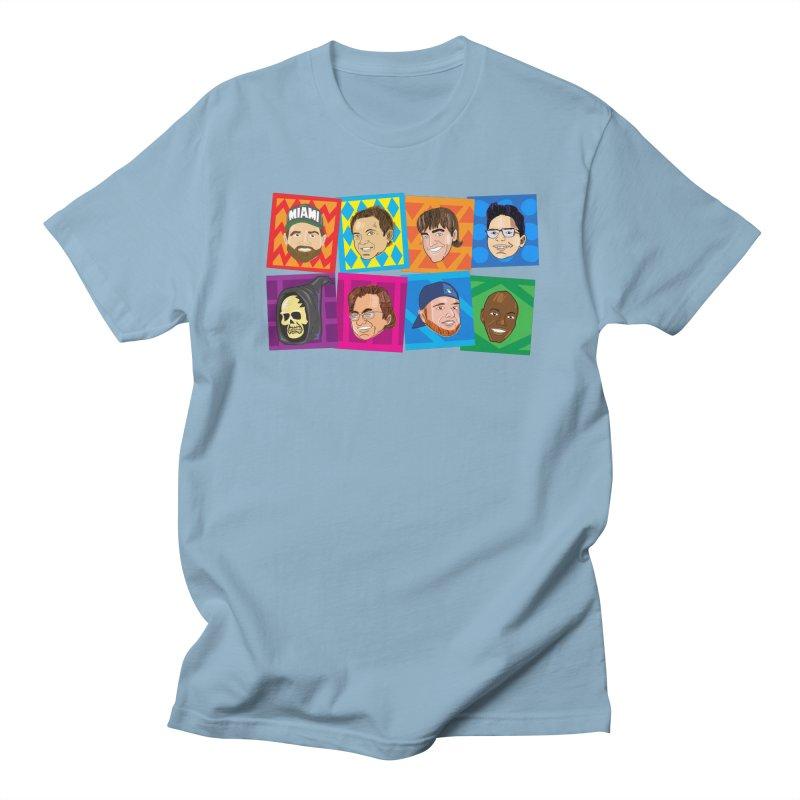 Show Team Faces Men's T-Shirt by The Official Dan Le Batard Show Merch Store
