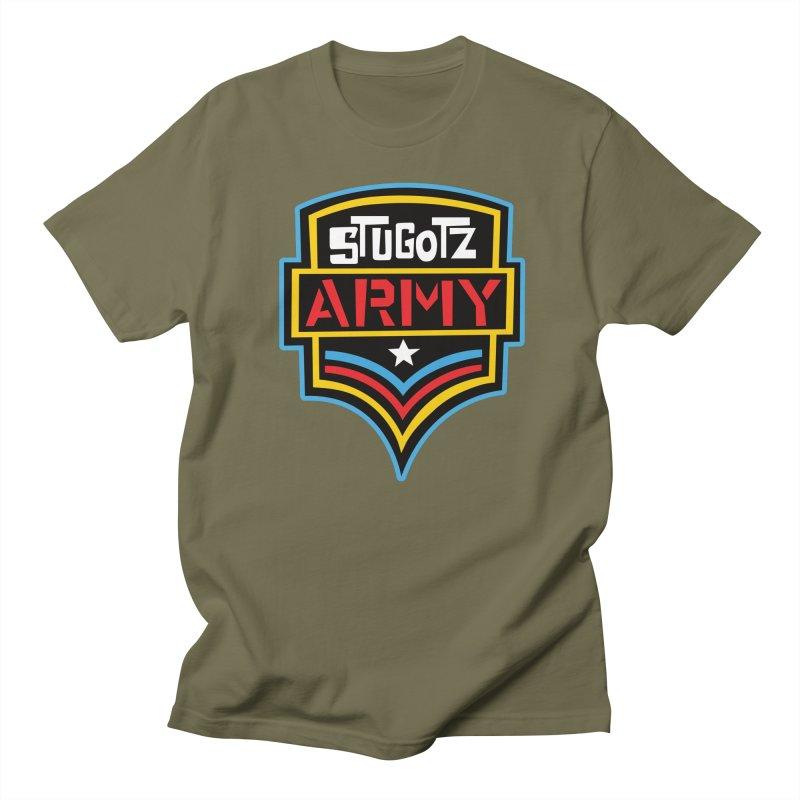 Stugotz Army Men's T-Shirt by The Official Dan Le Batard Show Merch Store