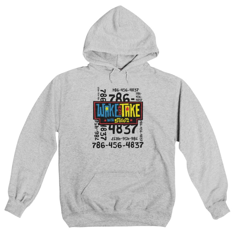 Wake and Take Men's Pullover Hoody by The Official Dan Le Batard Show Merch Store
