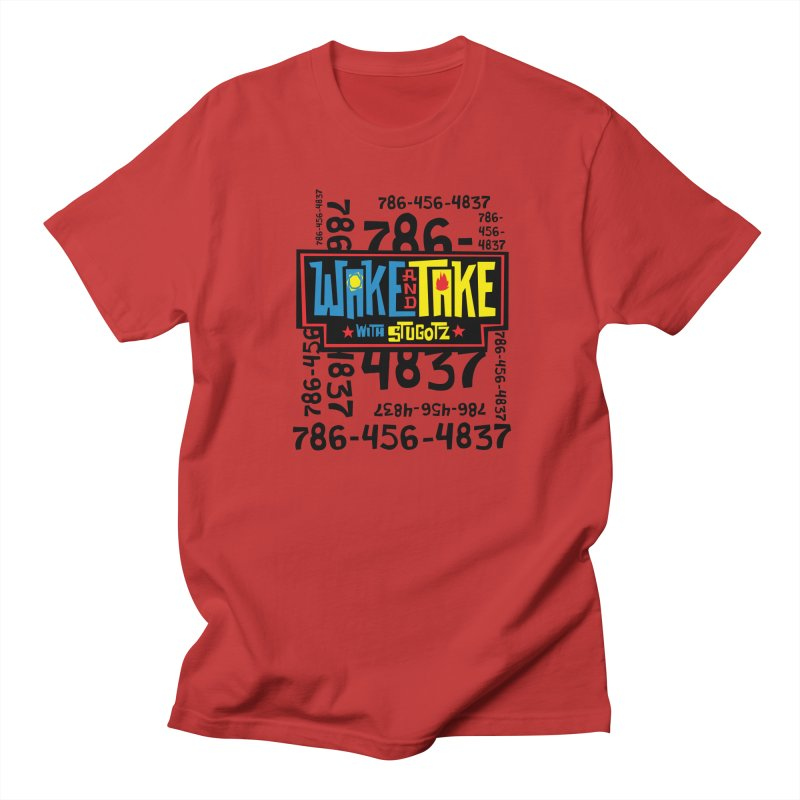 Wake and Take Men's T-Shirt by The Official Dan Le Batard Show Merch Store