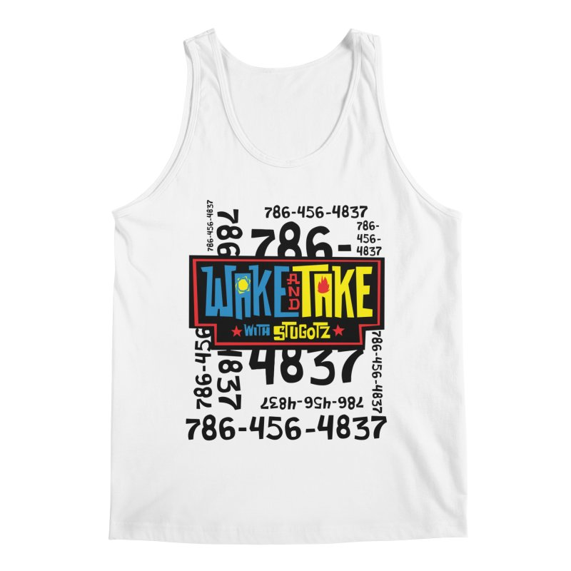 Wake and Take Men's Tank by The Official Dan Le Batard Show Merch Store