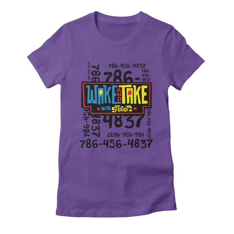 Wake and Take Women's T-Shirt by The Official Dan Le Batard Show Merch Store