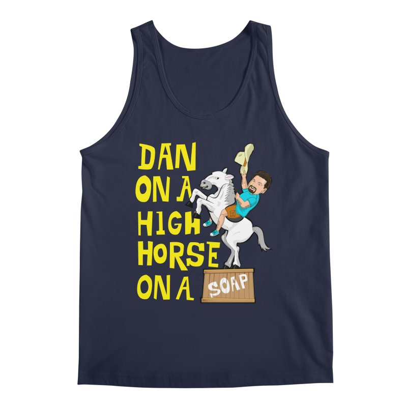 Dan on High Horse Men's Regular Tank by The Official Dan Le Batard Show Merch Store