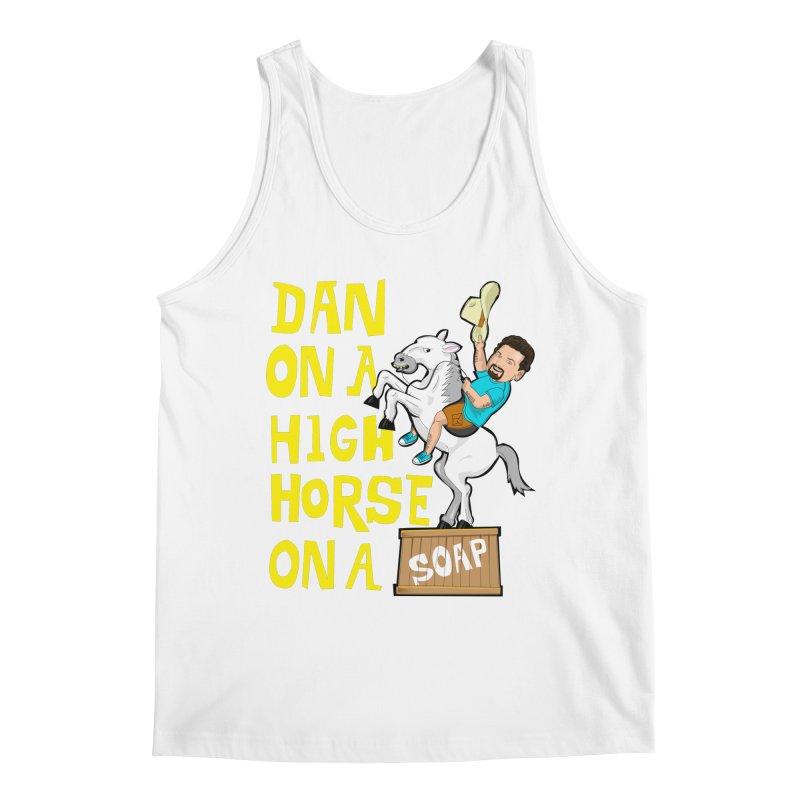 Dan on High Horse Men's Regular Tank by The Official Dan Le Batard Show Merch Store