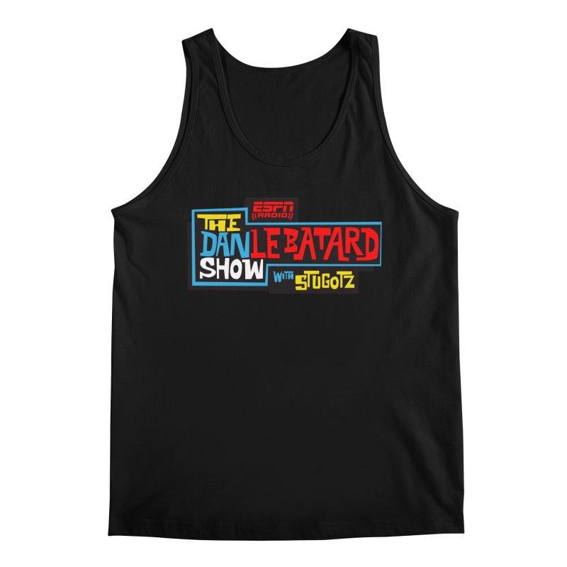 Lebatard Show Logo Men's Regular Tank by The Official Dan Le Batard Show Merch Store