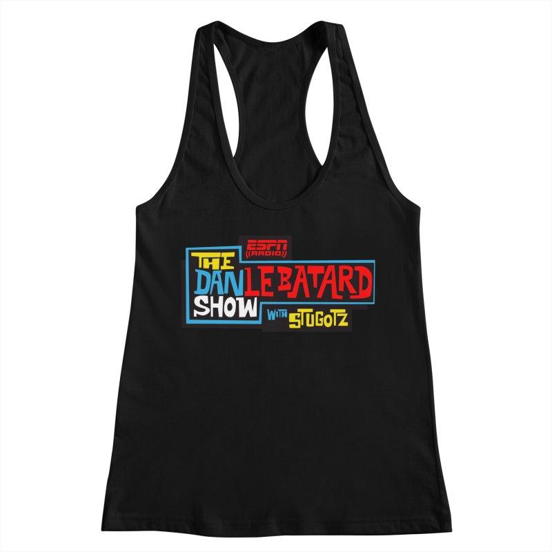 Lebatard Show Logo Women's Racerback Tank by The Official Dan Le Batard Show Merch Store