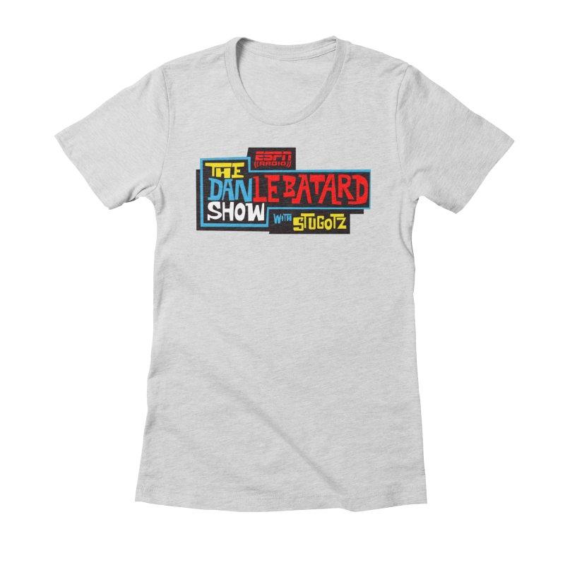 Lebatard Show Logo Women's Fitted T-Shirt by The Official Dan Le Batard Show Merch Store