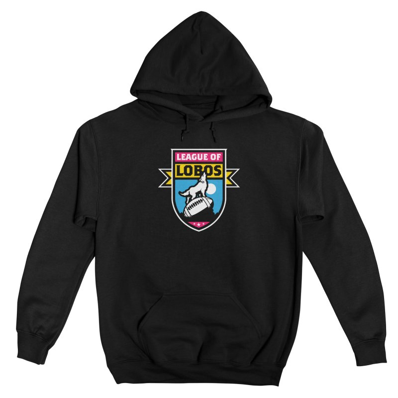 League of Lobos Men's Pullover Hoody by The Official Dan Le Batard Show Merch Store