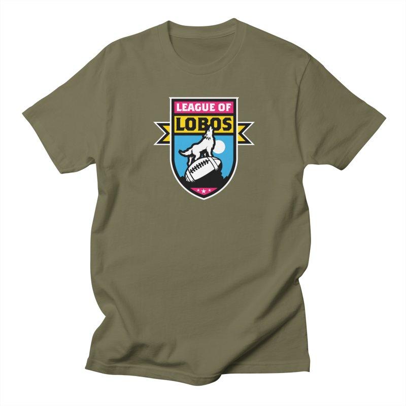 League of Lobos Men's Regular T-Shirt by The Official Dan Le Batard Show Merch Store