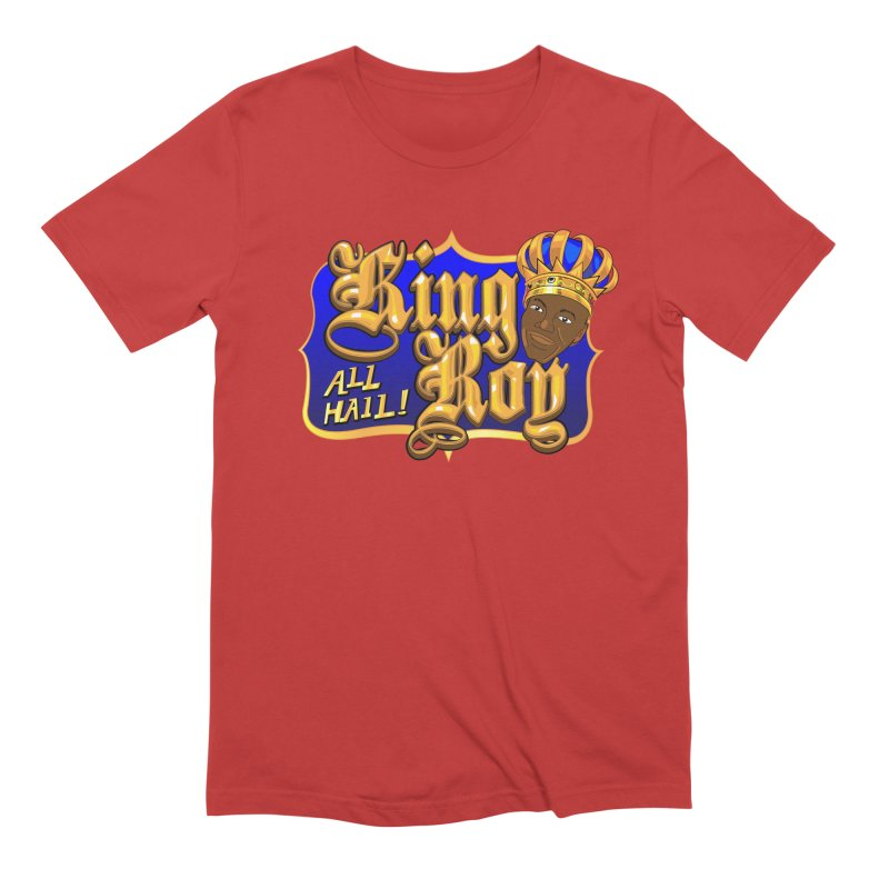 All Hail King Roy Men's Extra Soft T-Shirt by The Official Dan Le Batard Show Merch Store