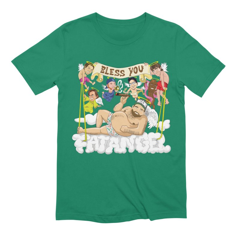 Bless You Fatangel Men's Extra Soft T-Shirt by The Official Dan Le Batard Show Merch Store