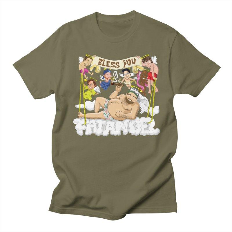 Bless You Fatangel Men's Regular T-Shirt by The Official Dan Le Batard Show Merch Store