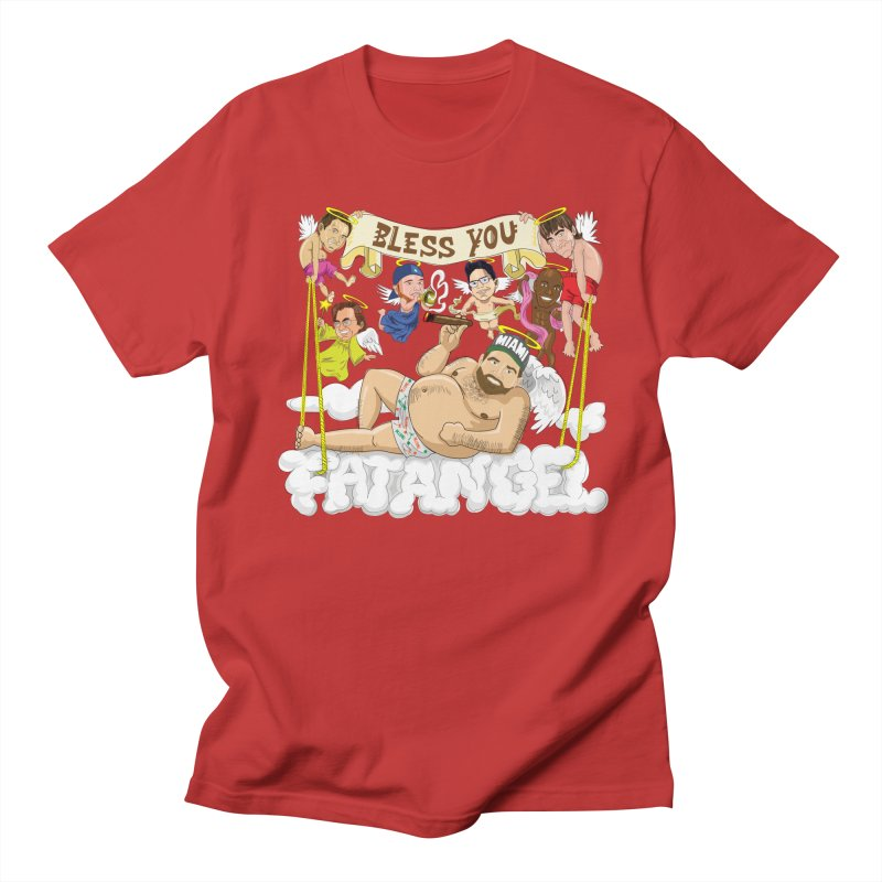 Bless You Fatangel Men's Regular T-Shirt by The Official Dan Le Batard Show Merch Store