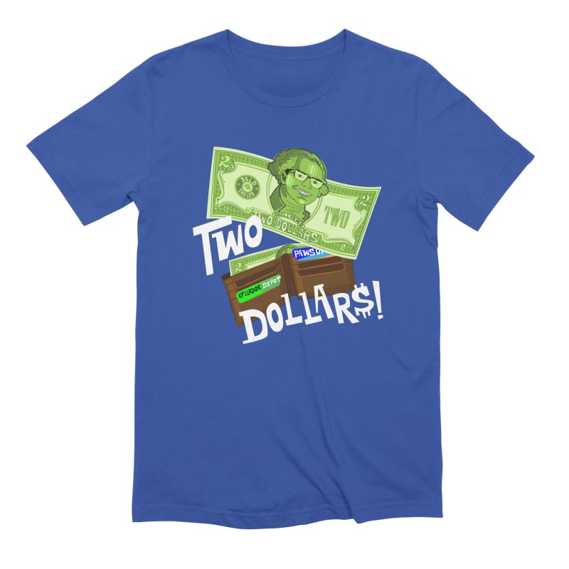 Two Dollar$! Men's Extra Soft T-Shirt by The Official Dan Le Batard Show Merch Store