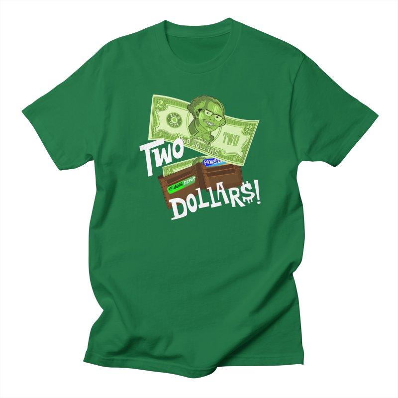 Two Dollar$! Men's Regular T-Shirt by The Official Dan Le Batard Show Merch Store