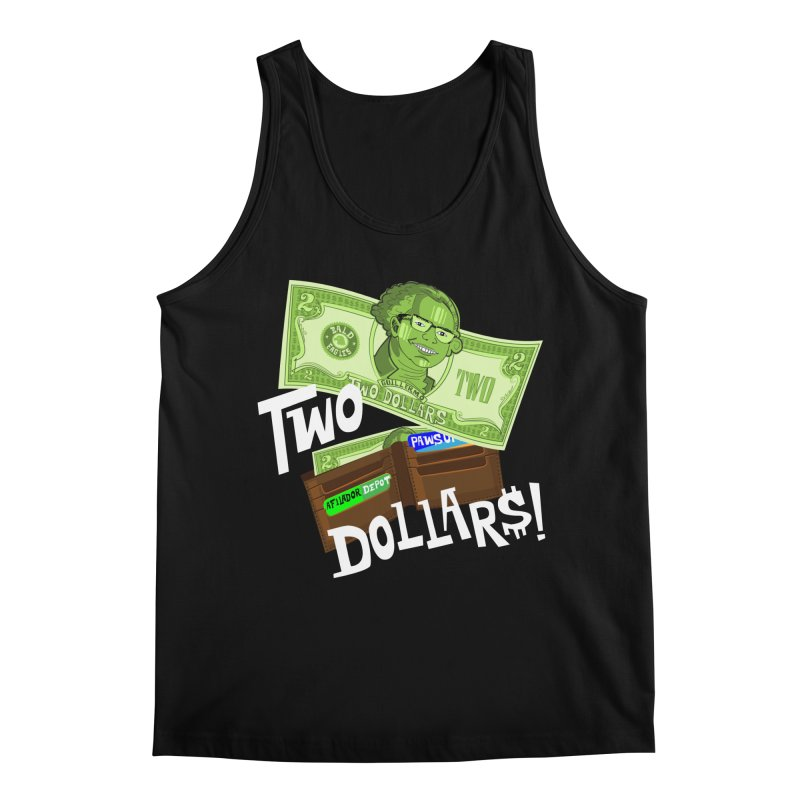 Two Dollar$! Men's Regular Tank by The Official Dan Le Batard Show Merch Store