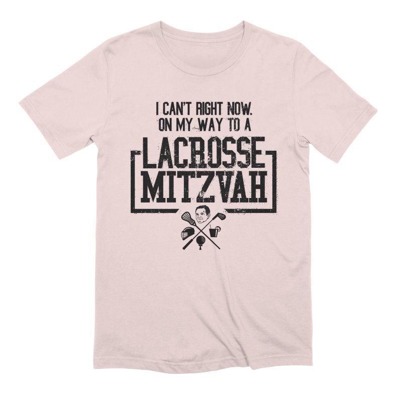 Lacrosse Mitzvah Men's Extra Soft T-Shirt by The Official Dan Le Batard Show Merch Store
