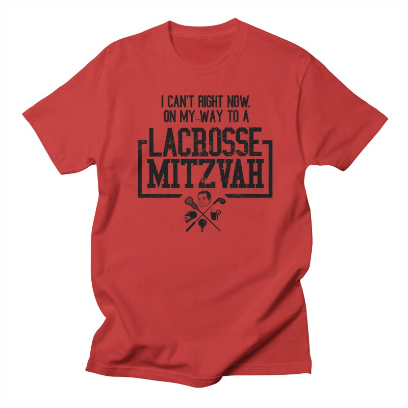 Lacrosse Mitzvah Men's Regular T-Shirt by The Official Dan Le Batard Show Merch Store