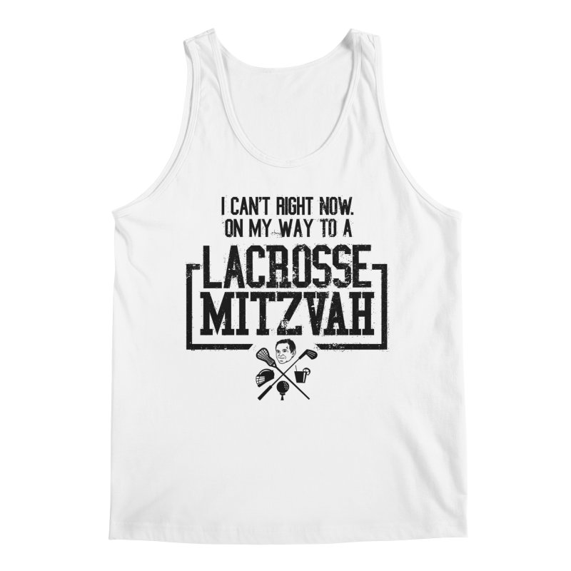 Lacrosse Mitzvah Men's Regular Tank by The Official Dan Le Batard Show Merch Store