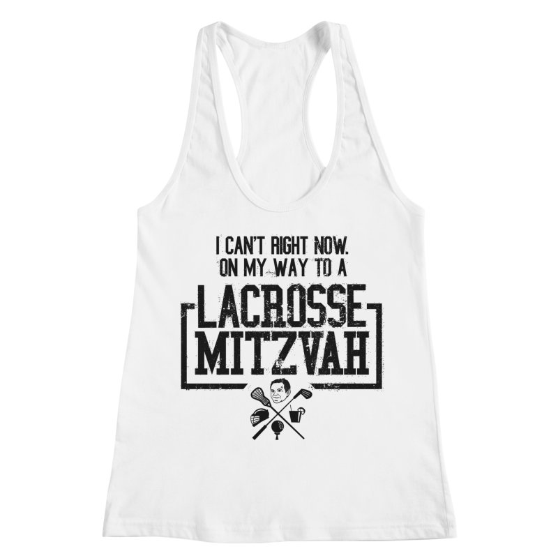Lacrosse Mitzvah Women's Racerback Tank by The Official Dan Le Batard Show Merch Store
