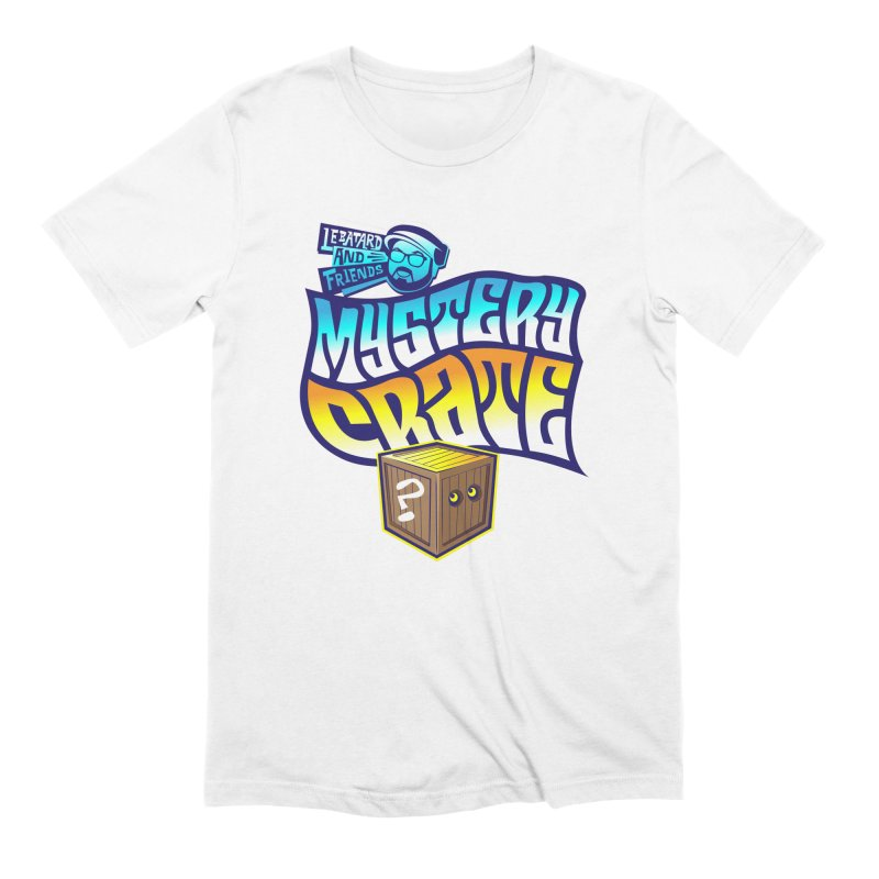 Mystery Crate Men's Extra Soft T-Shirt by The Official Dan Le Batard Show Merch Store