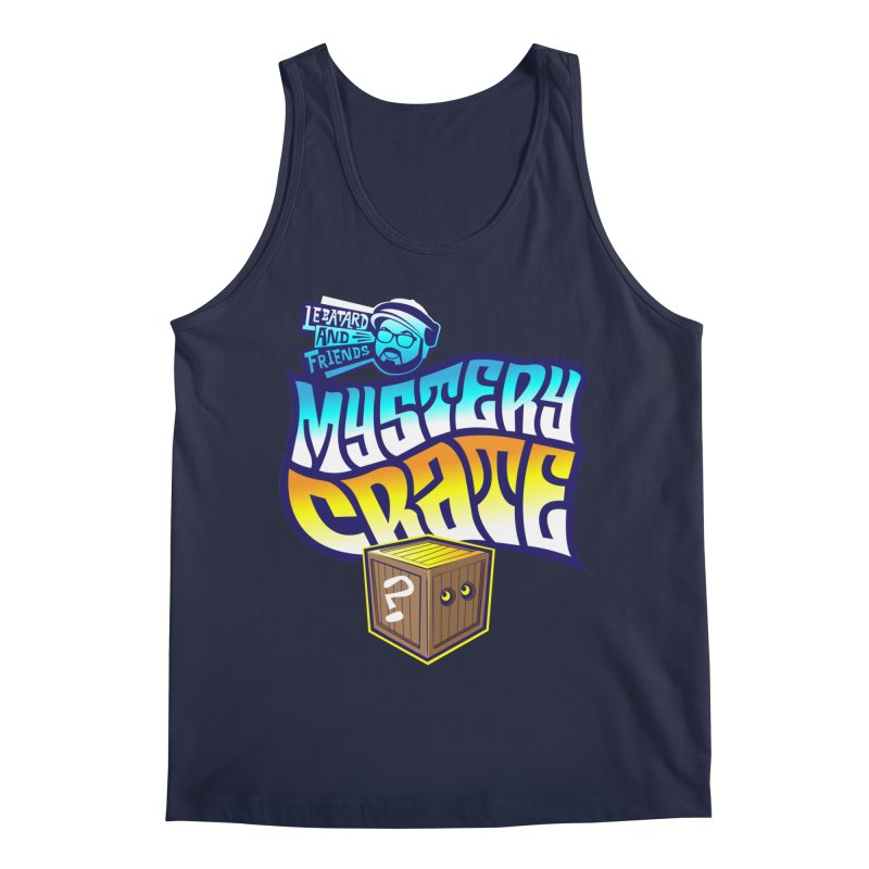 Mystery Crate Men's Regular Tank by The Official Dan Le Batard Show Merch Store