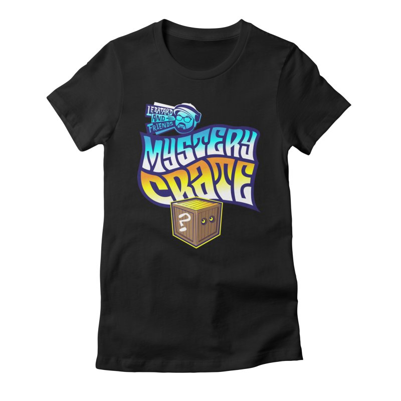 Mystery Crate Women's Fitted T-Shirt by The Official Dan Le Batard Show Merch Store