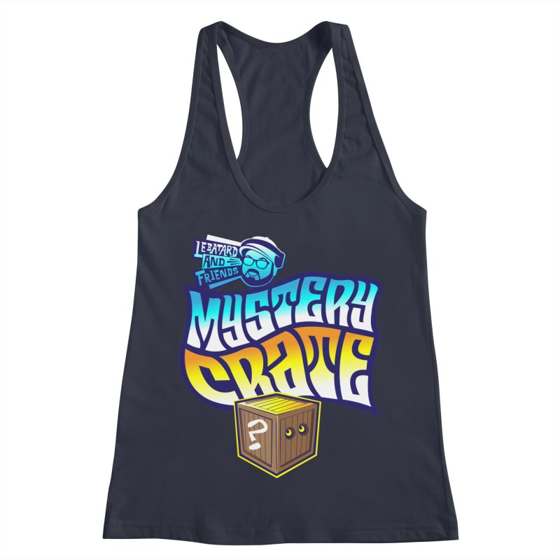 Mystery Crate Women's Racerback Tank by The Official Dan Le Batard Show Merch Store