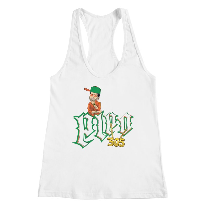 Pipo 305 Women's Racerback Tank by The Official Dan Le Batard Show Merch Store