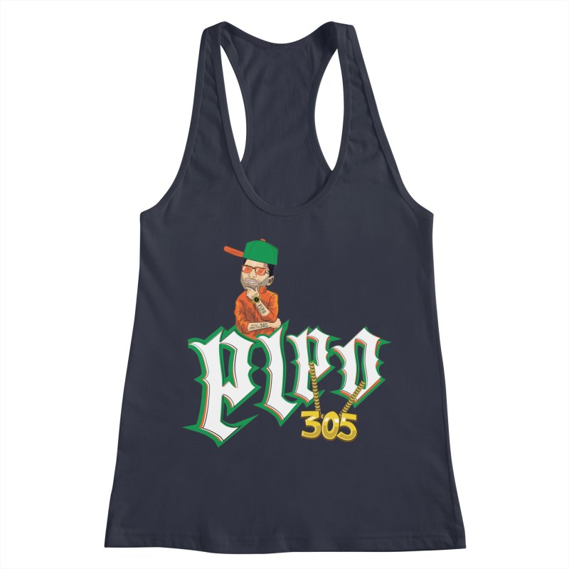 Pipo 305 Women's Tank by The Official Dan Le Batard Show Merch Store