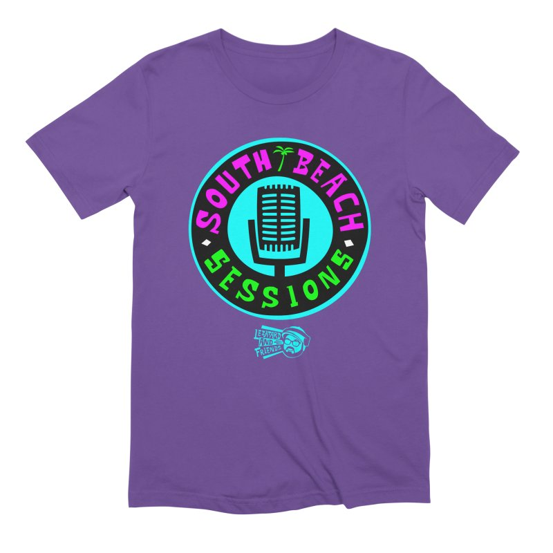 South Beach Sessions Men's Extra Soft T-Shirt by The Official Dan Le Batard Show Merch Store