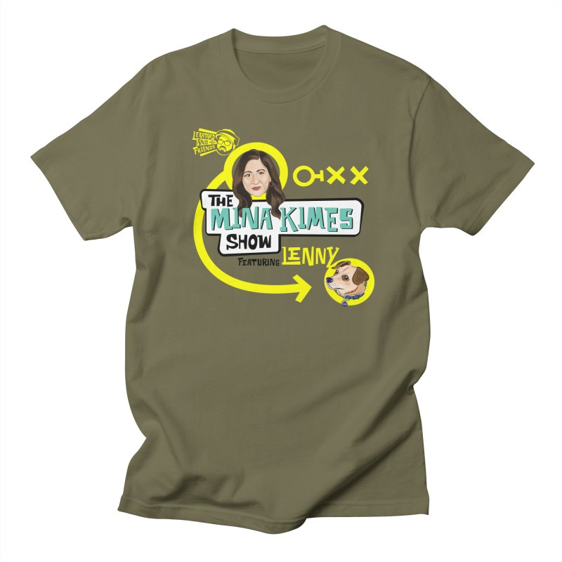 The Mina Kimes Show Men's Regular T-Shirt by The Official Dan Le Batard Show Merch Store