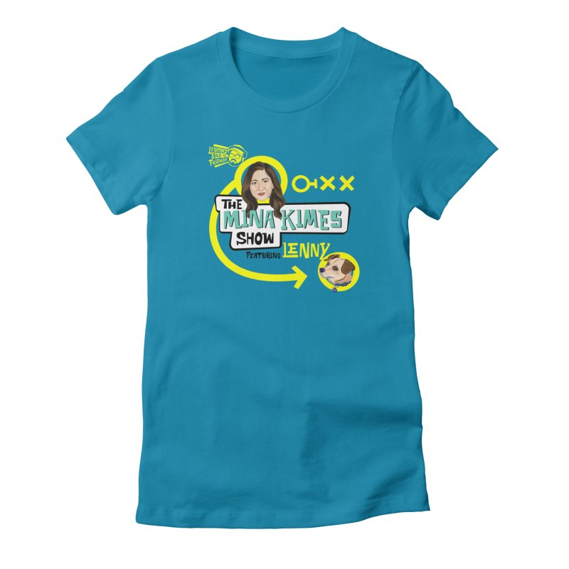 The Mina Kimes Show Women's Fitted T-Shirt by The Official Dan Le Batard Show Merch Store