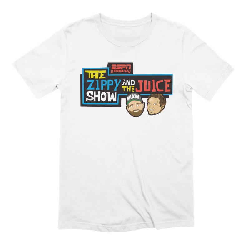 The Zippy and The Juice Show Men's Extra Soft T-Shirt by The Official Dan Le Batard Show Merch Store