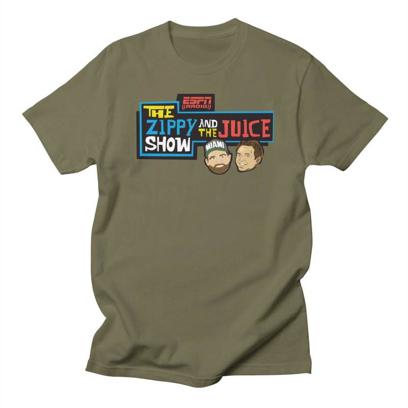 The Zippy and The Juice Show Men's Regular T-Shirt by The Official Dan Le Batard Show Merch Store