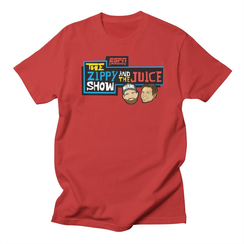 The Zippy and The Juice Show Men's T-Shirt by The Official Dan Le Batard Show Merch Store