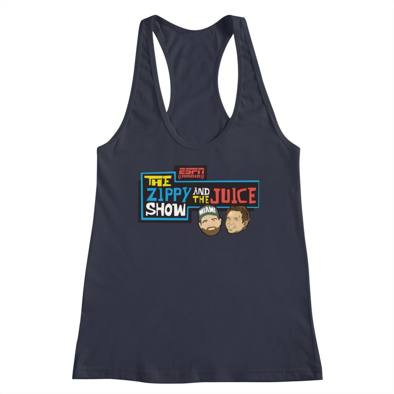 The Zippy and The Juice Show Women's Tank by The Official Dan Le Batard Show Merch Store