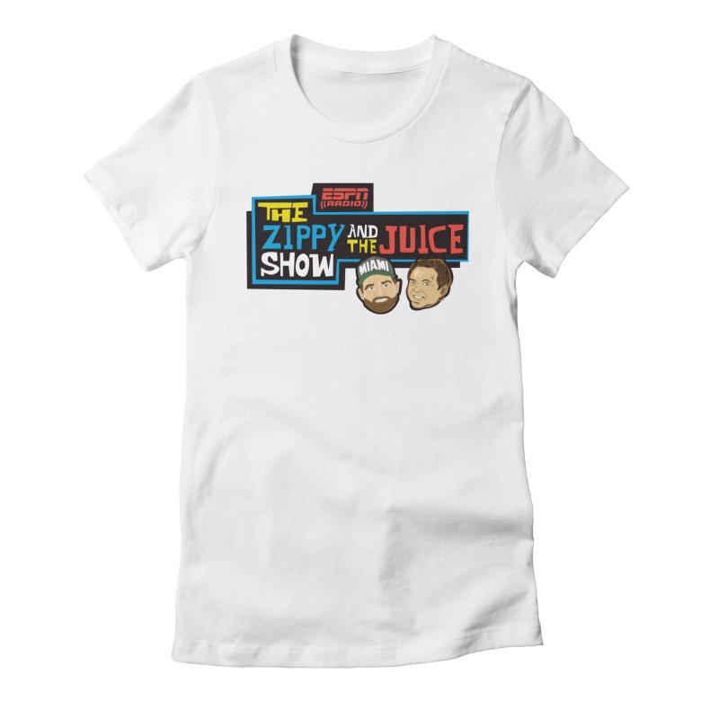 The Zippy and The Juice Show Women's Fitted T-Shirt by The Official Dan Le Batard Show Merch Store