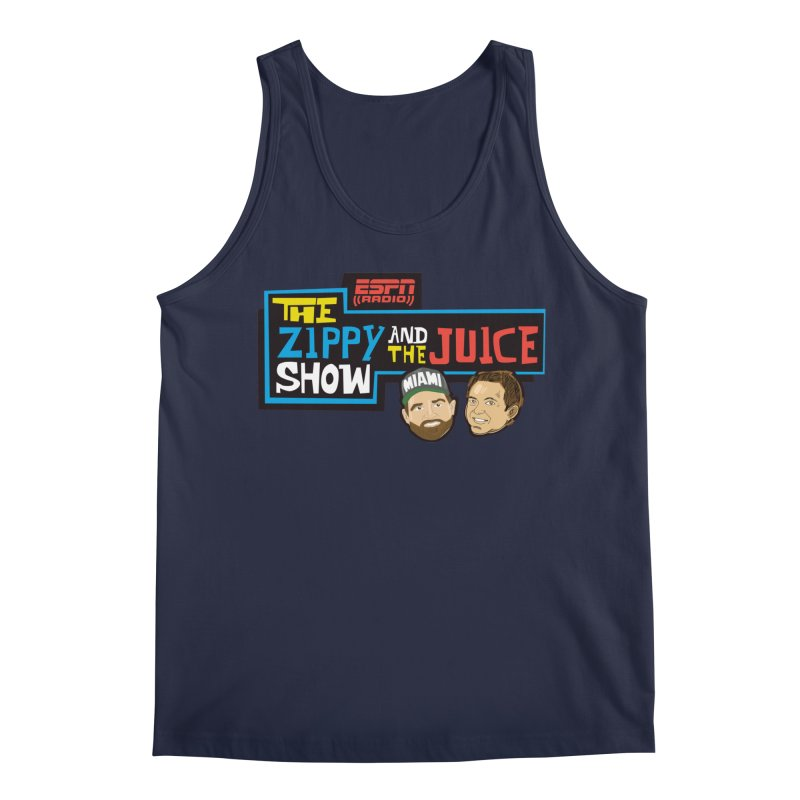 The Zippy and The Juice Show Men's Regular Tank by The Official Dan Le Batard Show Merch Store