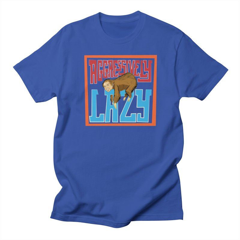 Aggressively Lazy Men's T-Shirt by The Official Dan Le Batard Show Merch Store