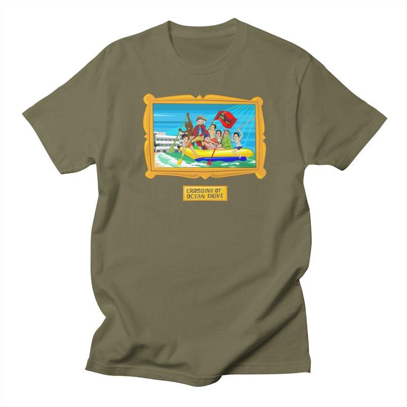 Crossing Ocean Drive Men's T-Shirt by The Official Dan Le Batard Show Merch Store