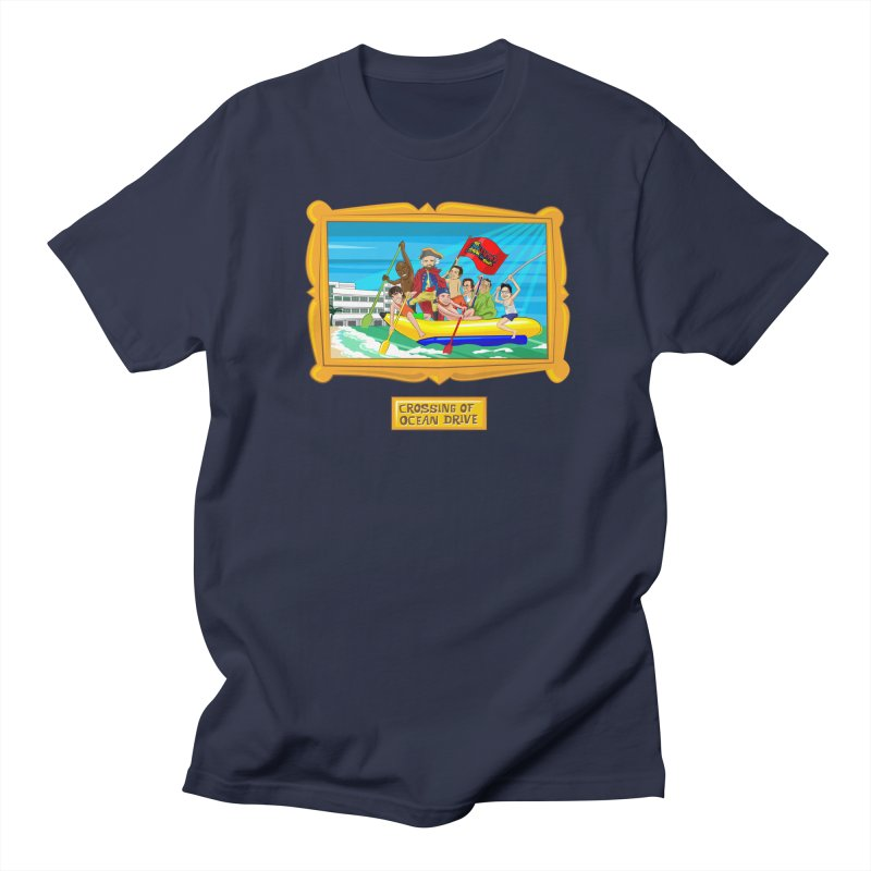 Crossing Ocean Drive Men's Regular T-Shirt by The Official Dan Le Batard Show Merch Store