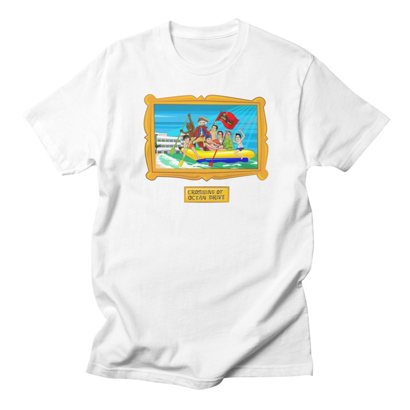 Crossing Ocean Drive Men's T-Shirt by The Official Dan Le Batard Show Merch Store