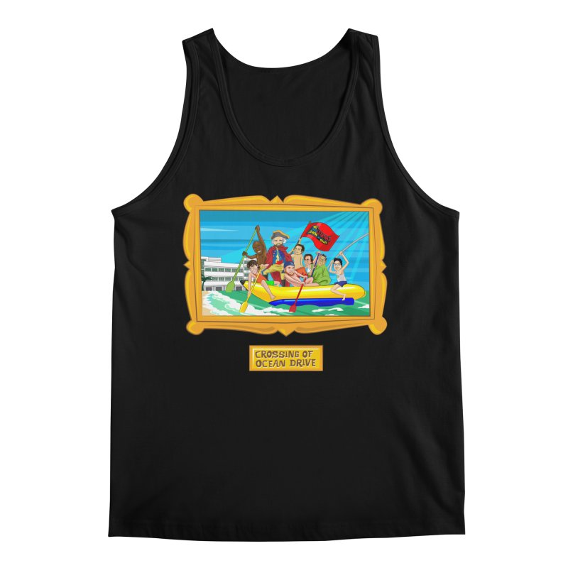 Crossing Ocean Drive Men's Tank by The Official Dan Le Batard Show Merch Store