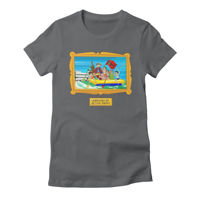 Crossing Ocean Drive Women's T-Shirt by The Official Dan Le Batard Show Merch Store