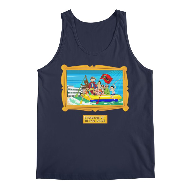 Crossing Ocean Drive Men's Regular Tank by The Official Dan Le Batard Show Merch Store