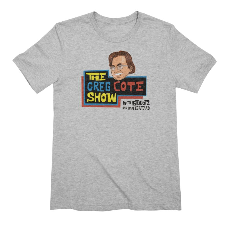 Greg Cote Show Men's Extra Soft T-Shirt by The Official Dan Le Batard Show Merch Store