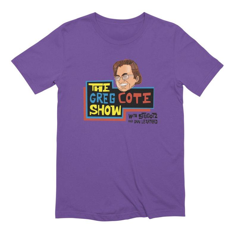 Greg Cote Show Men's T-Shirt by The Official Dan Le Batard Show Merch Store